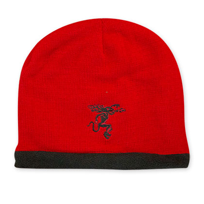 Fireball Cinnamon Whiskey Red Winter Hat
