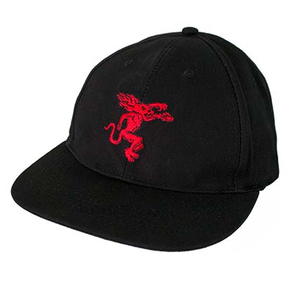 Fireball Whisky Dragon Logo Men's Black Hat