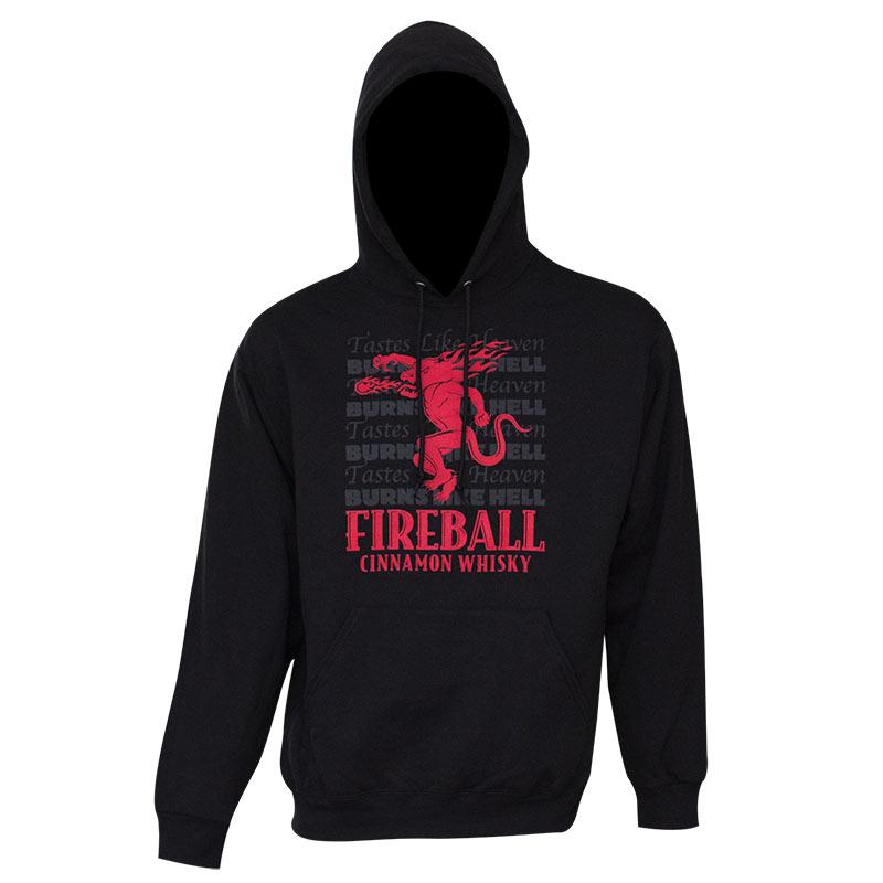 Fireball Tastes Like Heaven Hoodie