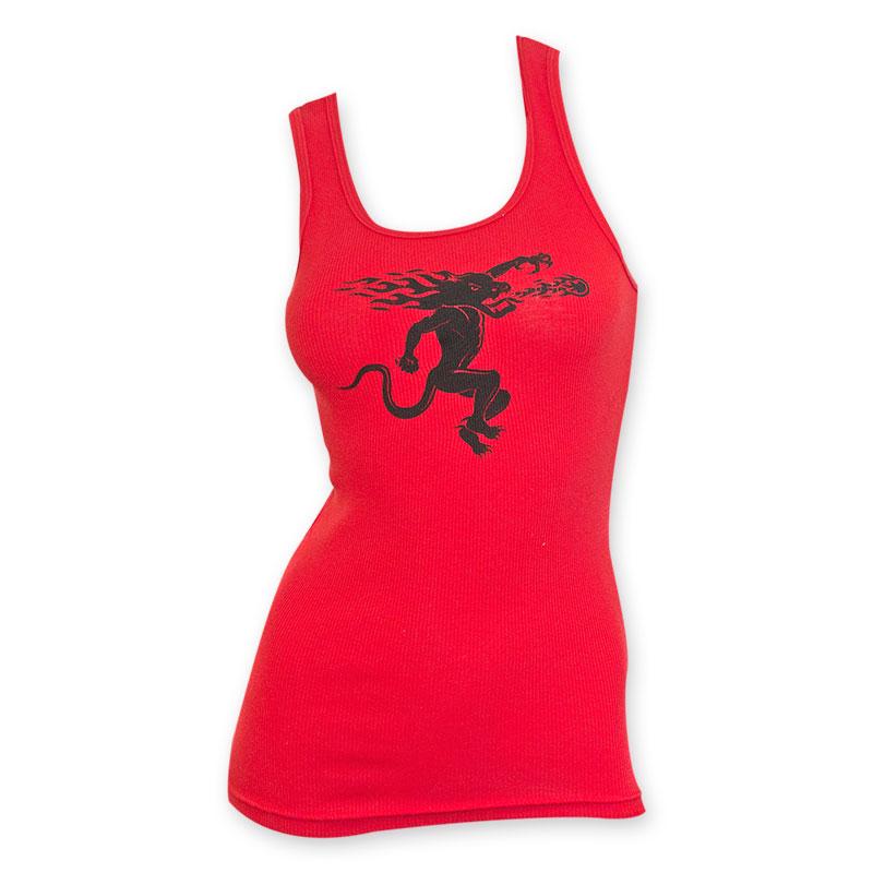 Fireball Women's Red Tank Top