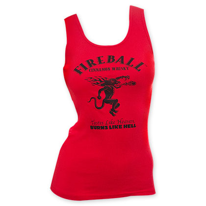 Fireball Cinnamon Whiskey Women's Tank Top