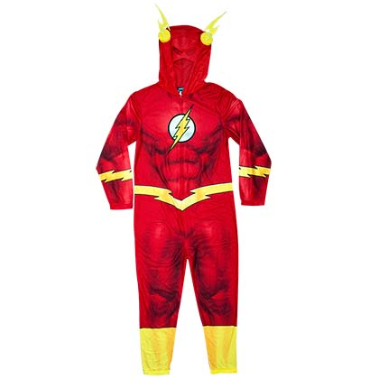 The Flash Pajama Union Suit Men's Costume