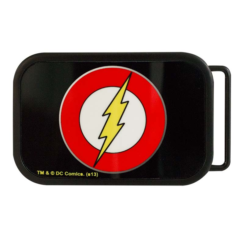 The Flash Logo Belt Buckle