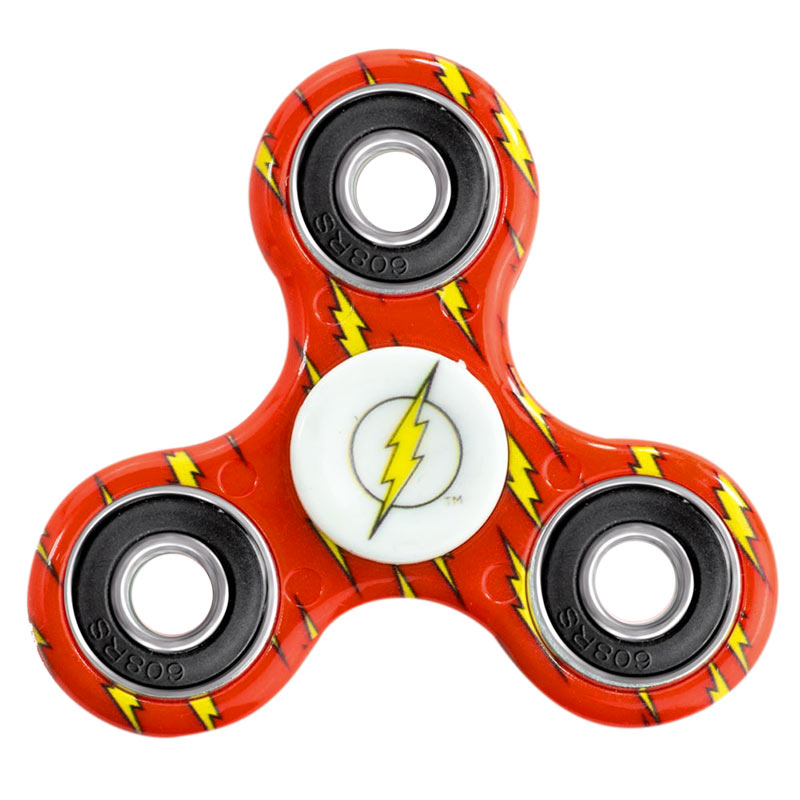 Flash Superhero Fidget Spinner