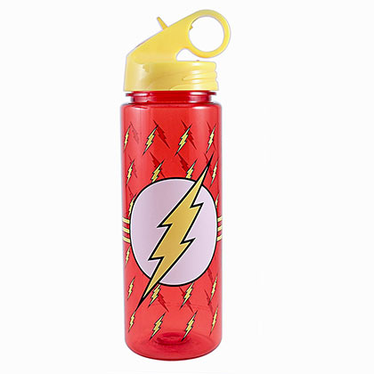 The Flash Plastic Water Bottle