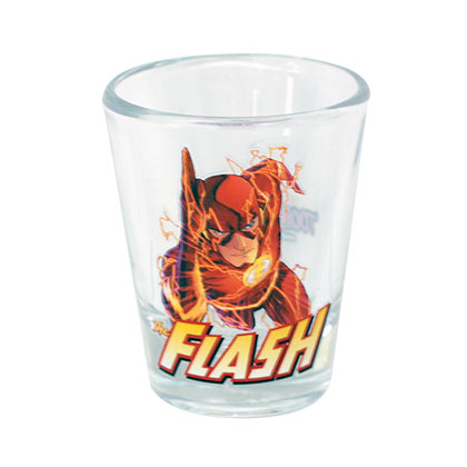 Flash Character Shot Glass