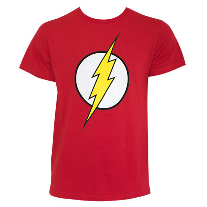 Flash Men's Red Logo T-Shirt