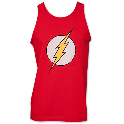 Flash Classic Logo Men's Tank - Red
