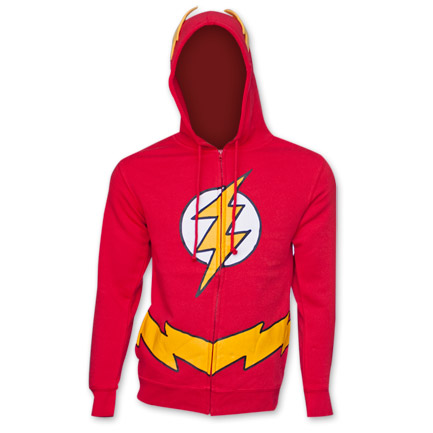 Flash Costume Hoodie - Red