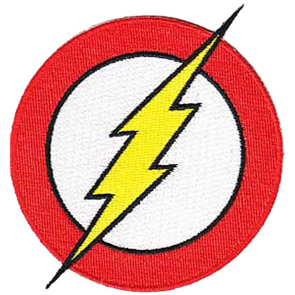 Flash Embroidered Logo Patch