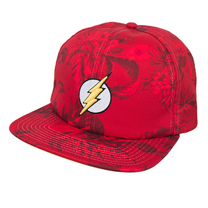 The Flash Floral Adjustable Hat