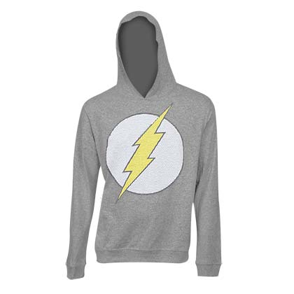 The Flash Classic Logo Grey Hoodie