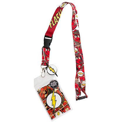 Flash Comic Lanyard