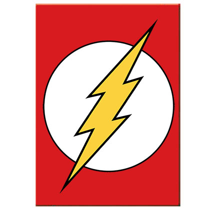 The Flash Comic Logo Magnet