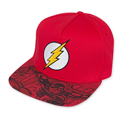 The Flash Lightning Bolt Logo Hat
