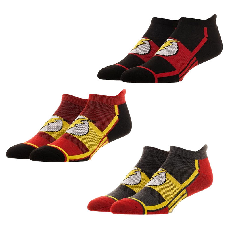 The Flash 3-Pack Ankle Socks