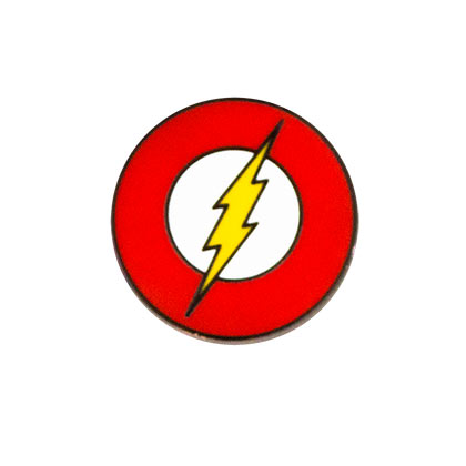 Flash Logo Lapel Pin