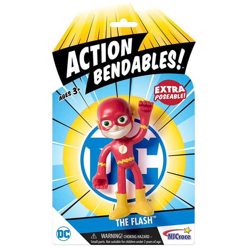 The Flash Action Bendables Figure Toy