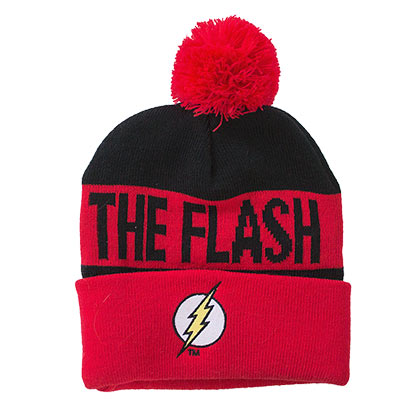 Flash Pom Winter Logo Beanie