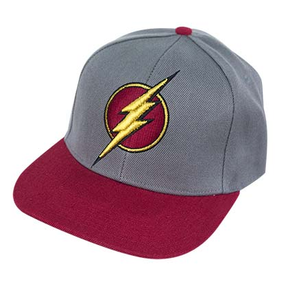 Flash Heather Red Retro Snapback Hat