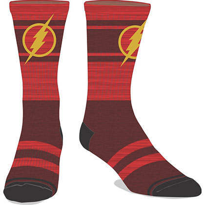 The Flash Men's Marled Crew Socks