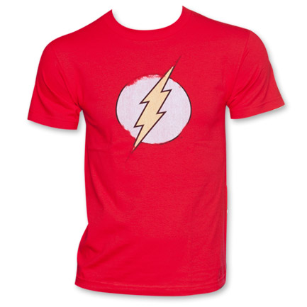Flash Logo Tee - Red