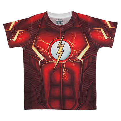Flash Boys Red Sublimated Costume T-Shirt