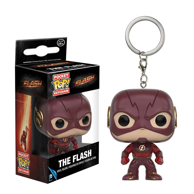 Flash TV Funko Pop Pocket Keychain
