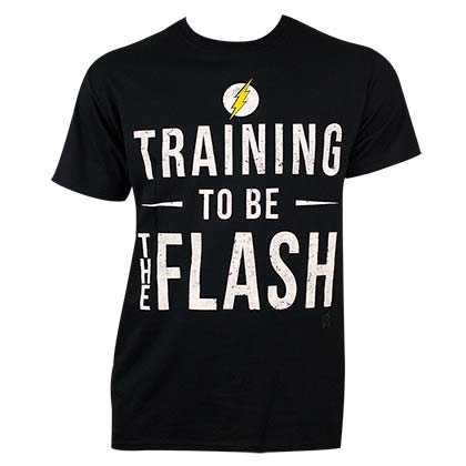 Flash Men's Black Training T-Shirt