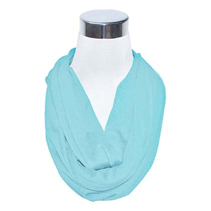 Blue Women's Flask Scarf