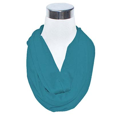 Aquamarine Secret Flask Scarf