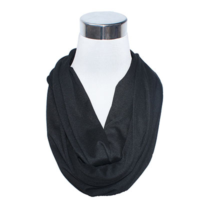 Black Secret Flask Scarf