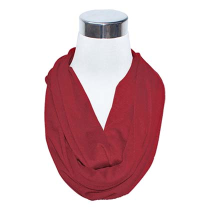 Crimson Secret Flask Scarf