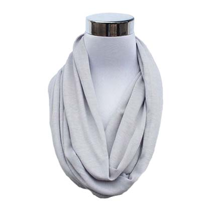 Grey Secret Flask Scarf