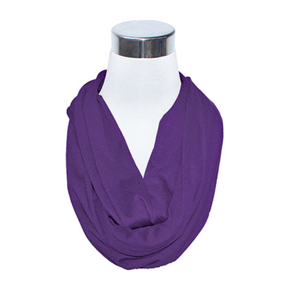 Purple Hidden Flask Scarf