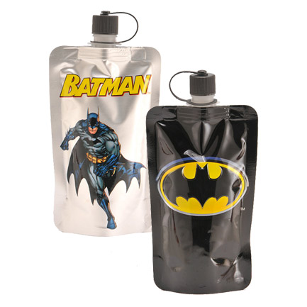 Batman Logo Collapsible Flask