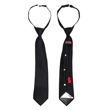 Black Secret Flask Tie