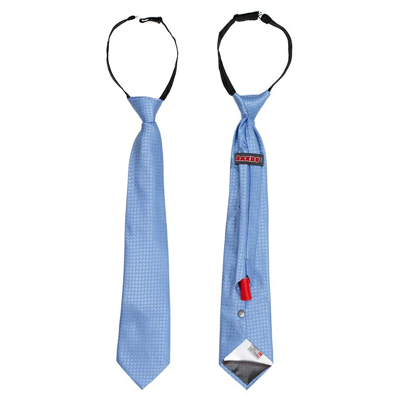 Blue Secret Flask Tie