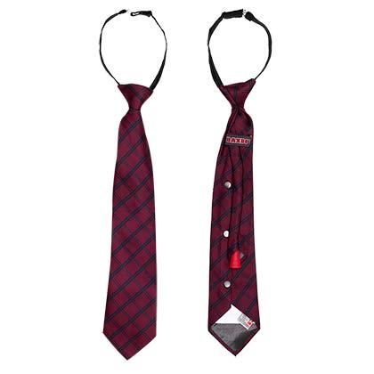 Red And Navy Flask Tie