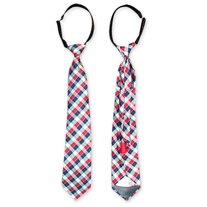 Blue And Red Hidden Flask Tie