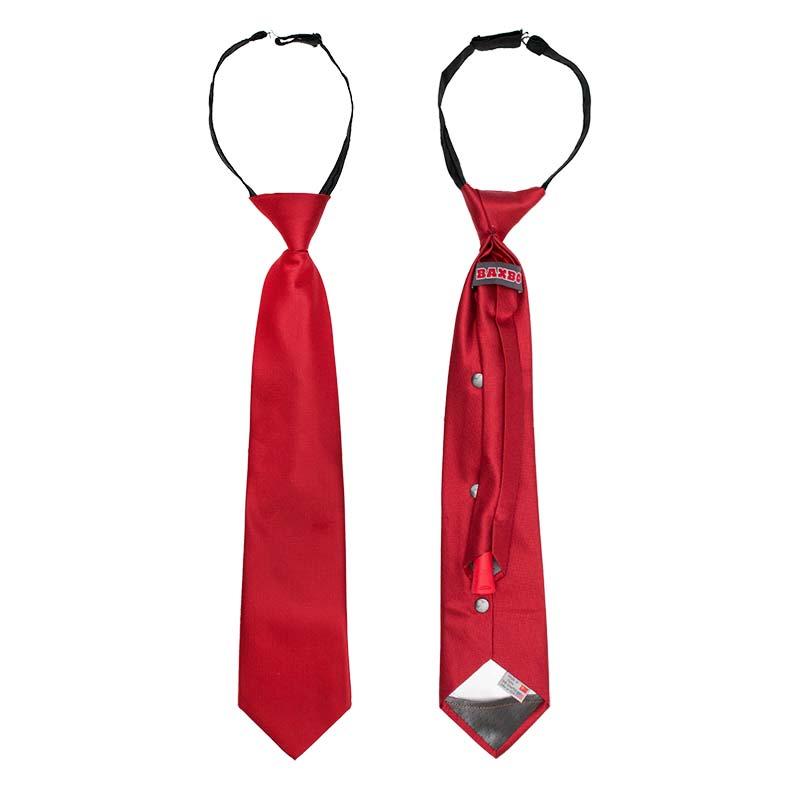 Red Secret Flask Tie