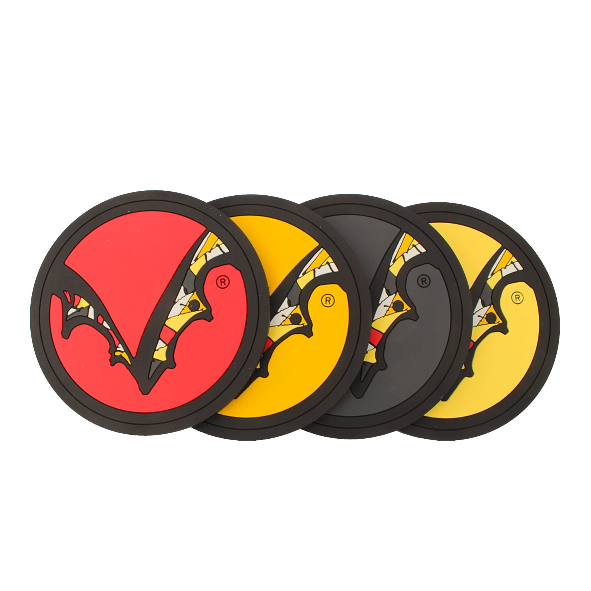 Flying Dog 4 Pack Silicone Coasters