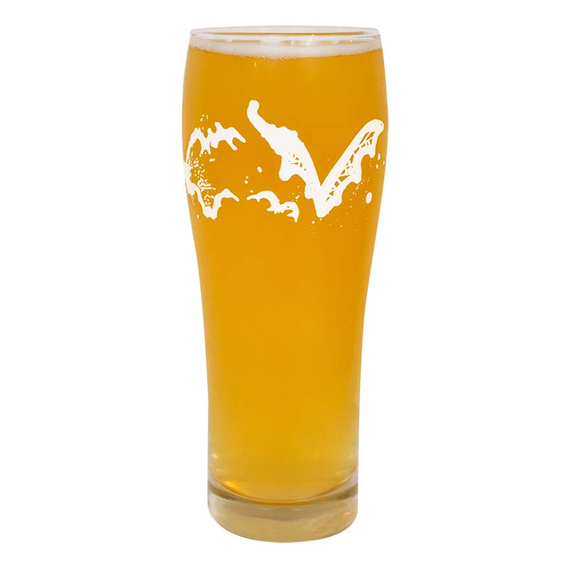 Flying Dog Beer Glass
