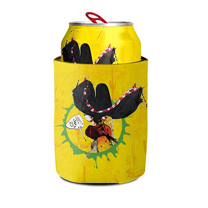 Flying Dog Numero Uno Mas Yellow Beer Can Cooler