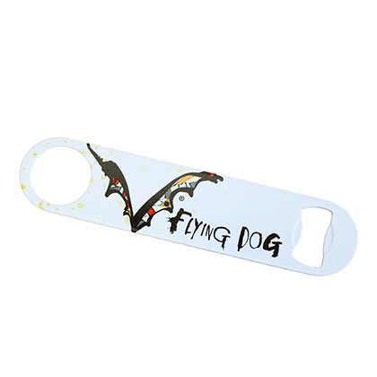 Flying Dog White Speed Bottle Opener