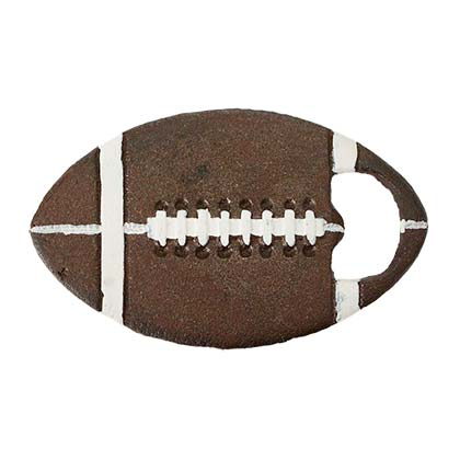 Football Rustic Cast Iron Opener