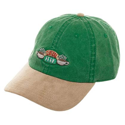 Friends Central Perk Green and Suede Brim Hat