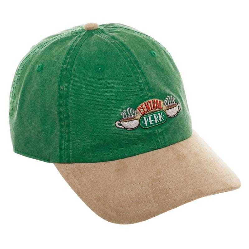 a50f2451d7bab Friends Central Perk Green and Suede Brim Hat