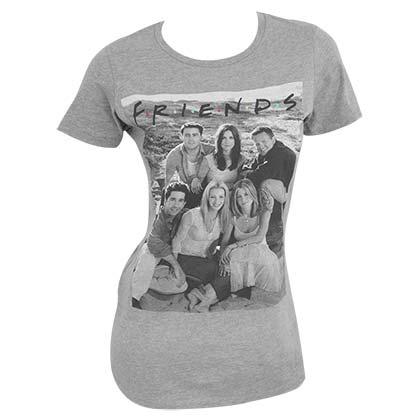 Friends Cast Grey Women's T-Shirt
