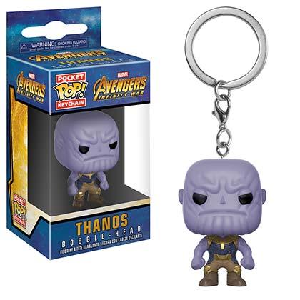 Avengers Infinity War Thanos Funko Pocket Pop Keychain